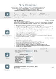 Sales Representative Resume Sample Adidas sales representative resume template Resume samples 17