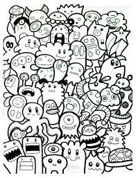Galerie De Coloriages Gratuits Coloriage Doodle Doodling 10