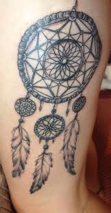 Aztec Dream Catcher Tattoo Beauteous Dreamcatcher Aztec Design Tattoo Drawing Art Tatty Tat Tat