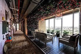 google tel aviv office. Each Of The Floors At Google\u0027s Tel Aviv Office Has A Unique, Israel-inspired Theme. (Photo: Itay Sikolski / Camenzind Evolution) Google