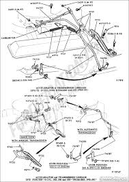 Throttle linkage and kick down for 1972 f100 360 2 barrel
