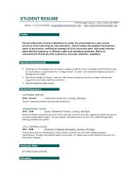 Customer Service Graduate Student Resume Objective Resume Sample For ...