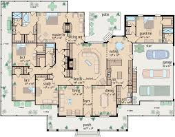 Country Style House Plans   Plan   Main Floor Plan