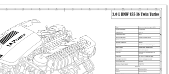 in search of the facts bmw engine info engraved blueprint art bmw engine info