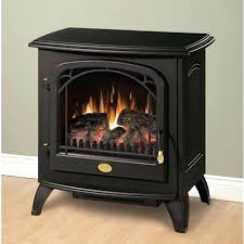 ch electric stove fireplace vonhaus heater with flame effect black