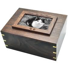 perfect wooden box photo frame cat urn xlarge swh 003d frame