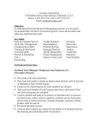 Director Of Retail Operations Merchandising Operation Manager Resume