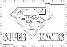 Small Picture Seahawks Coloring Pages Coloring Pages Ideas Reviews