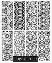 Relax and color easy or intricate designs, traditional or modern, floral or geometric. 25 Free Printable Adult Coloring Bookmarks