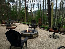 diy gravel patio elegant fire pits pea gravel driveway patio types how to make fire pit