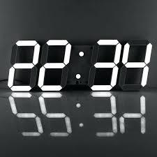 jumbo digital wall clock remote control jumbo digital led led digital crystal electronic digital wall clocks