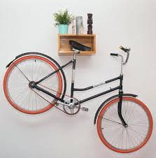 wall mount bike rack making sure your home decor take a hit this light wood  bike . wall mount bike ...