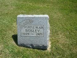 Myrtle Alice Blair Bosley (1869-1917) - Find A Grave Memorial