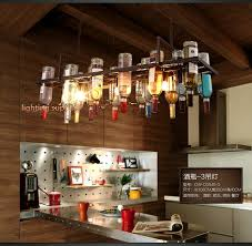 pendant lighting fixture. Recycled Retro Hanging Wine Bottle Pendant Lamps Light With Edison Bulb For Dining Room/bar Lighting Fixture G