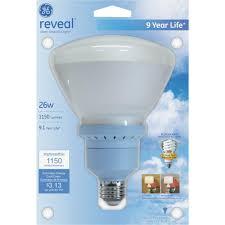 R40 Compact Fluorescent Flood Light Bulbs Details About Ge Lighting 62953 26w R40 Reveal Compact Fluorescent Bulb