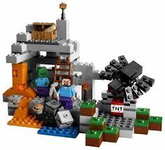 <b>Конструктор LEGO Minecraft</b> 21113 Пещера — купить по ...