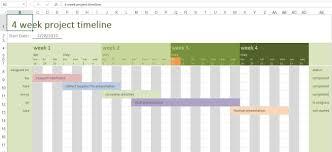 Project Management Calendar Template Excel And Gantt Project Planner