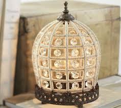 dalila beaded crystal accent lamp