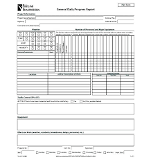 Daily Project Status Report Template Daily Project Status Report