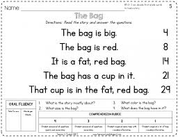Worksheet Kindergarten Reading Passages With Comprehension Sl ~ Koogra
