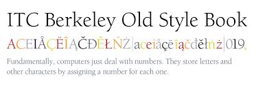 itc berkeley old style pro book
