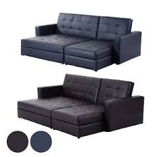 sofa bed with storage. Perfect Storage Image Is Loading SofaBedStorageSleeperChaiseLoveseatCouchSectional Throughout Sofa Bed With Storage