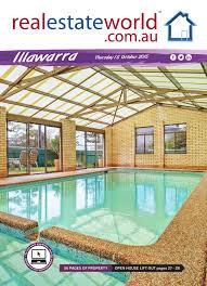 realestateworld.com.au - Illawarra Real Estate Publication, Issue 15  October 2015 by Estate Agents Co-operative - issuu