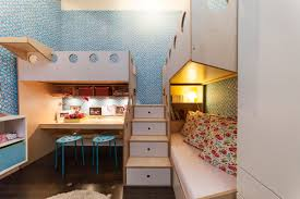 cool kids bedrooms. View In Gallery Blue Bedroom For Sharing Sisters Cool Kids Bedrooms