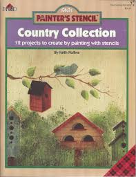 Birdhouse Stencils Designs Painters Stencil Country Collection 12 Projects To Create