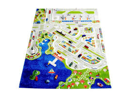 ivi 3d play rugs mini city