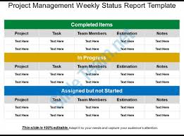 Project Status Sheet Custom Project Management Weekly Status Report Template Templates