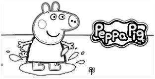 Small Picture Faciles Dibujos de Peppa Pig para Colorear en el Ordenador