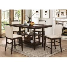 high kitchen table set. Winchester 5 Piece Counter Height Dining Set High Kitchen Table H