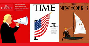 Image result for July 2018 Cover of The New Yorker