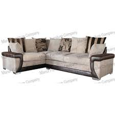 lavish fabric corner sofa rhf mink home furniture