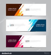 Desain Banner Vector Abstract Geometric Design Banner Web Template