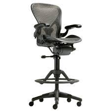 herman miller aeron work stool chair review