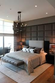 Schlafzimmer Ideen Wandgestaltung Stilvolle Wandgestaltung Heller Teppich  Schlafzimmerbank  Galleries