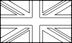 Wonderful England Flag To Colour Nice British Coloring Page 3711 7389