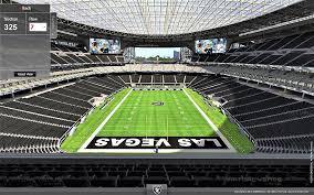 Raiders Stadium 3d Seating Chart Las Vegas Metro Area Allegiant Stadium 62 500 Page