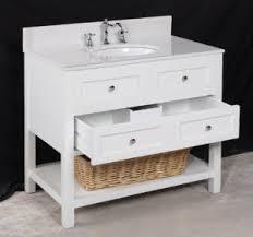 single white bathroom vanities. New Yorker White 36-inch Bathroom Vanity Single Vanities