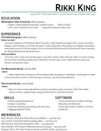 Resume Objective For Internship Examples Career Objectives High