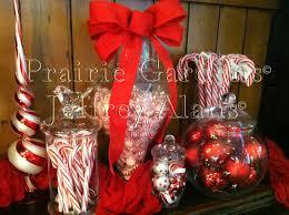 Apothecary Jars Christmas Decorations Christmas Candy Apothecary Jars Totally Christmas 30
