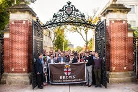 in the news brown university at brown university we make the audacious claim to redefine business management education in our suite of executive master programs in healthcare
