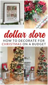 how to decorate a tree for under 20 using dollar decorations you won
