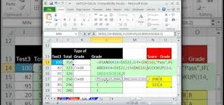 creating formulas in excel how to create a pass fail grade formula in microsoft excel