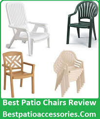 perfect chairs for your patio furniture set