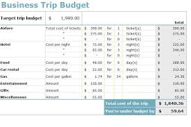 vacation budget template travel budget template business trip budget template business