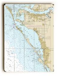 Fl Bradenton Sarasota Fl Nautical Chart Sign In 2019