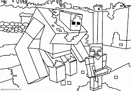 Small Picture Best Minecraft Pig And Sheep Coloring Pages Zombie Pigman esonme